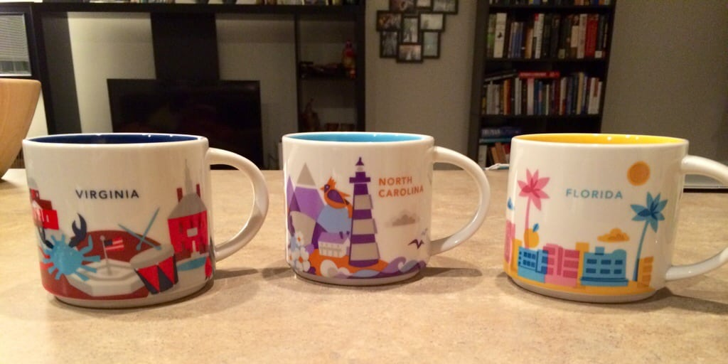 My Travel Mug Collection