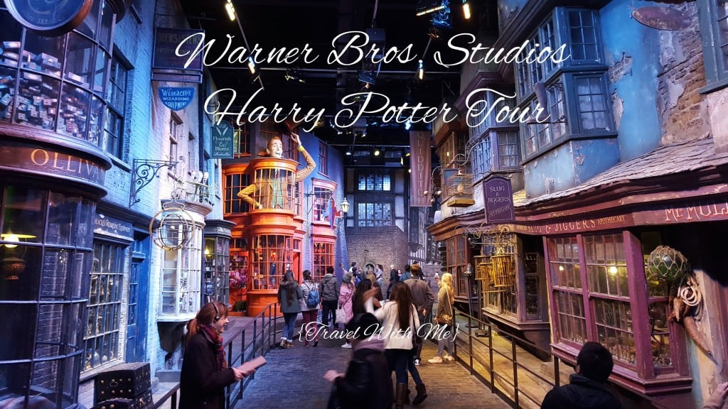 Travel With Me // Warner Bros. Studio Harry Potter Tour