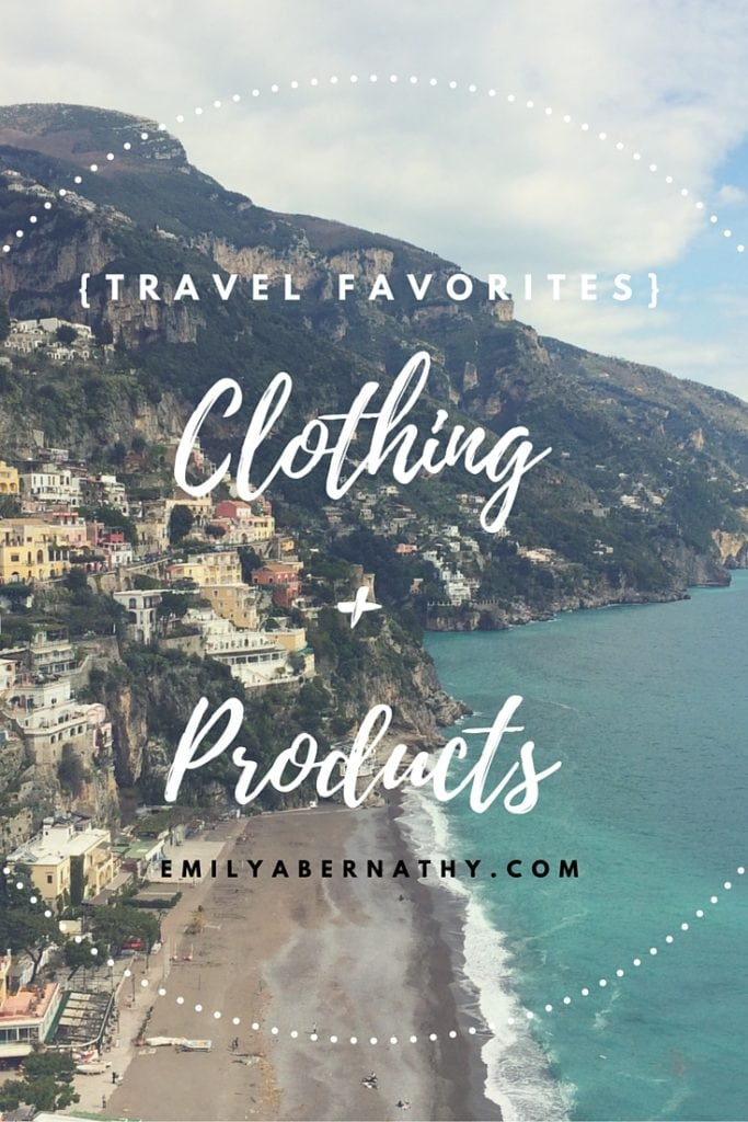 Travel Favorites_Clothing & Products_Pinterest