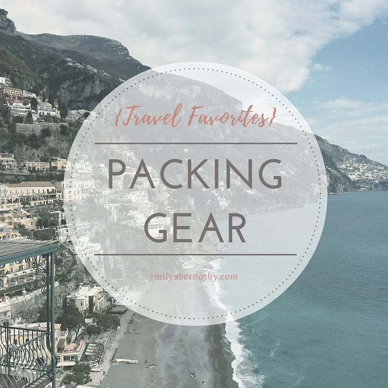 Travel Favorites_Packing Gear