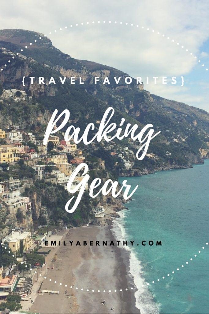 Travel Favorites_Packing Gear_Pinterest
