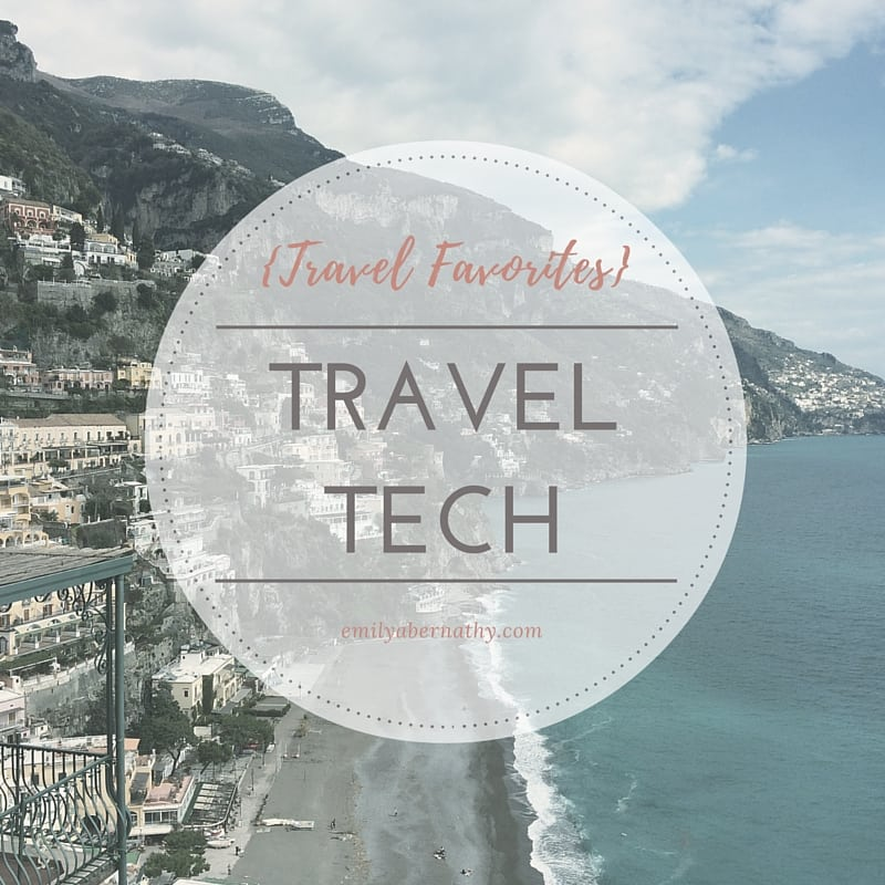Travel Favorites_Tech