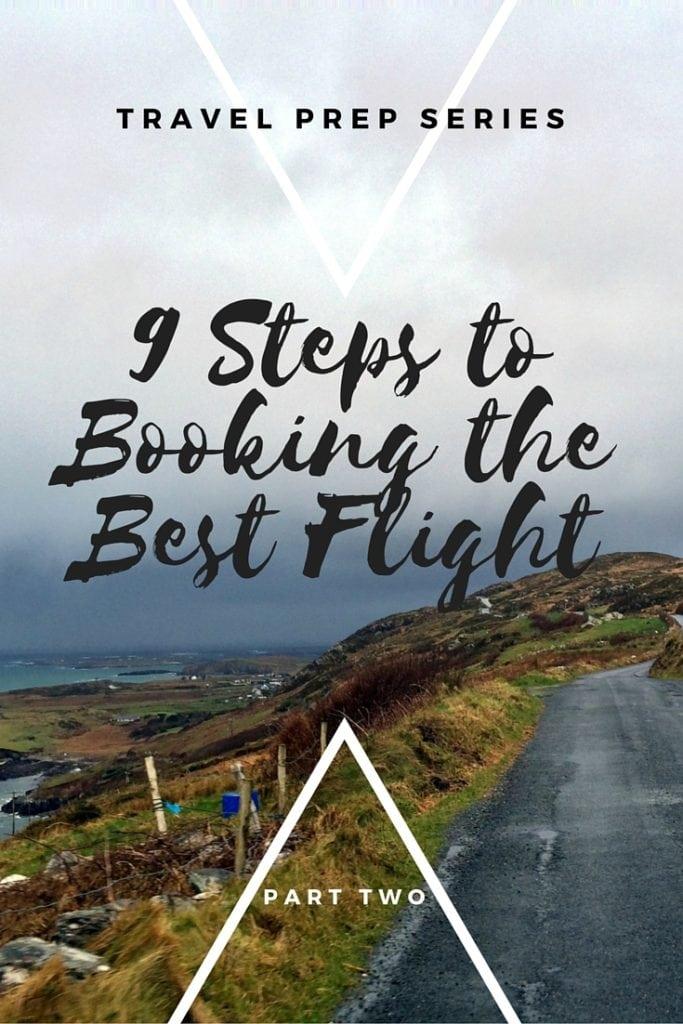 Travel Prep Series_Book the Best Flight_Pinterest