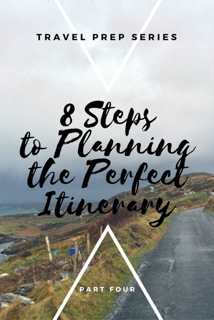 Travel Prep Series_Planning the Perfect Itinerary_Pinterest