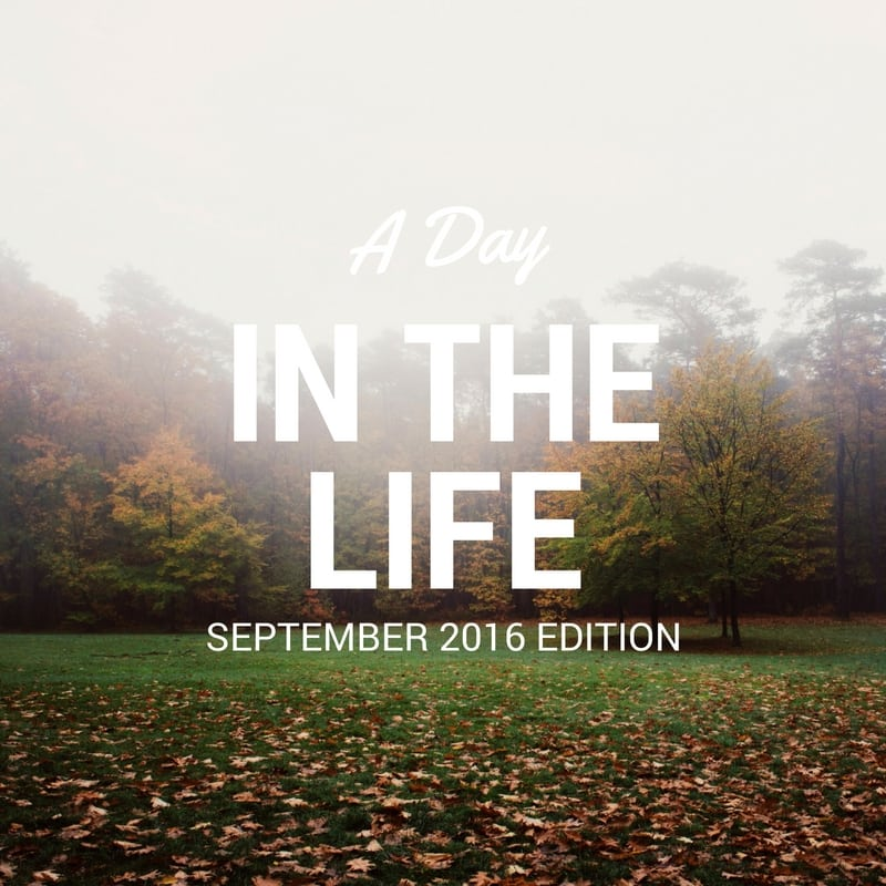 A Day in the Life | 09.01.16