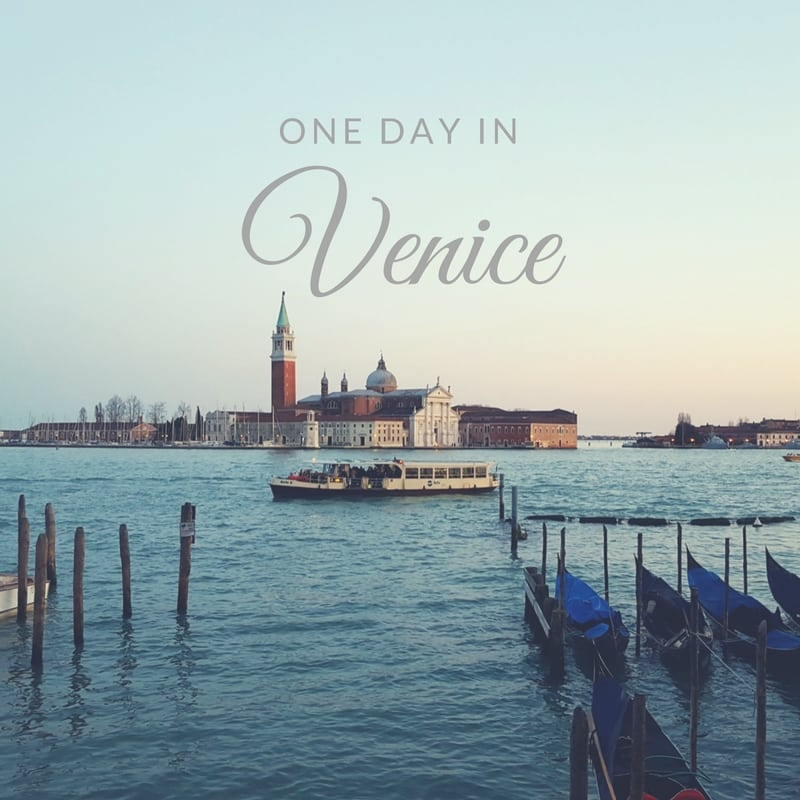 The Wandering Weekenders- A guest post from Emily at Everyday Accounts about 8 Things To Do With One Day In Venice! It includes lots of eating and getting lost too!
