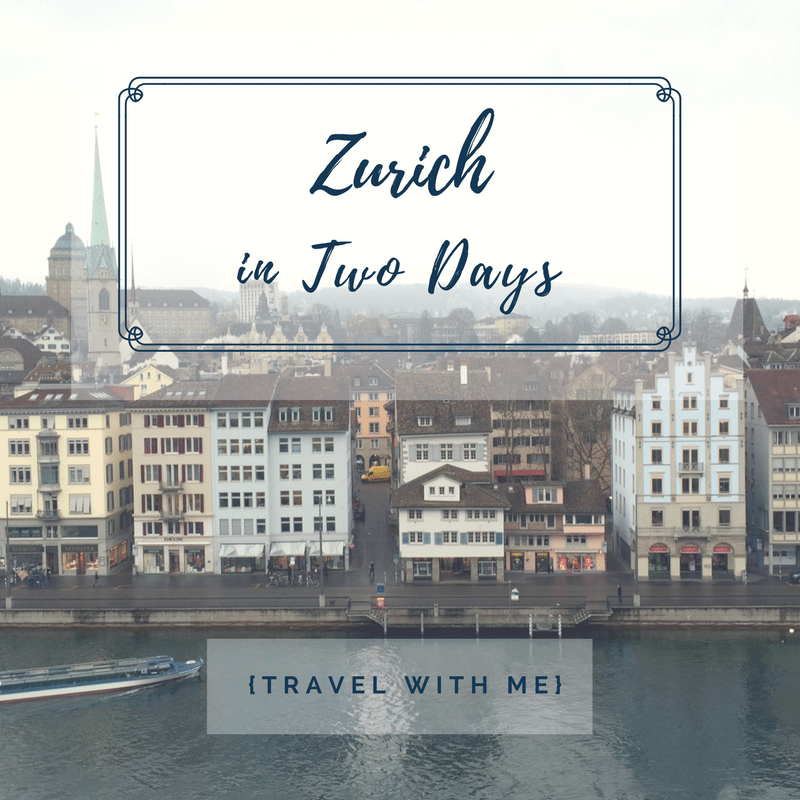 Travel With Me // Zurich on a Backpacker's Budget