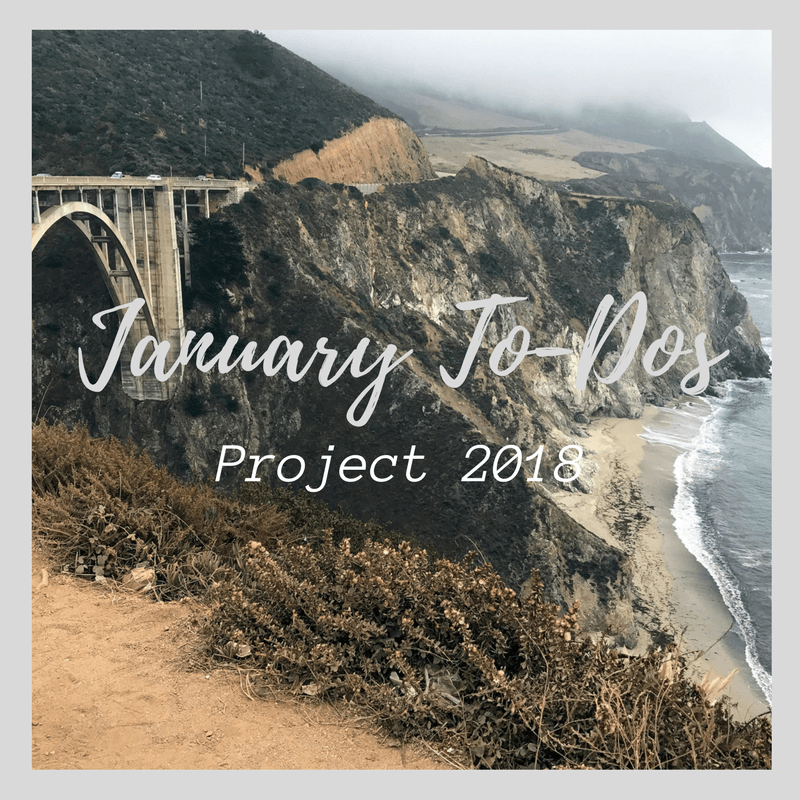 Project 2018: January To-Dos