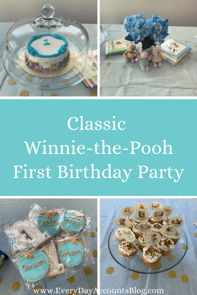 A Winnie the Pooh-Themed First Birthday Party_Carson's First Birthday_EverydayAccountsBlog.com