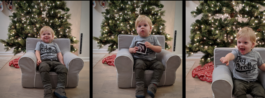 Carson Christmas Announcement_Baby Brother_EverydayAccountsBlog.com